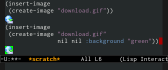 Transparent GIF support in Emacs 24