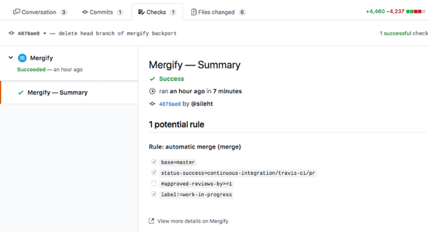 More GitHub workflow automation